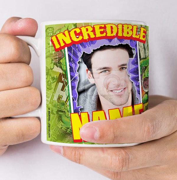 Personalised Incredible Hulk Mug - Photo Upload