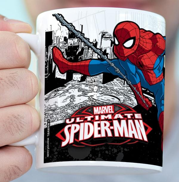 Spiderman Super Hero Mug