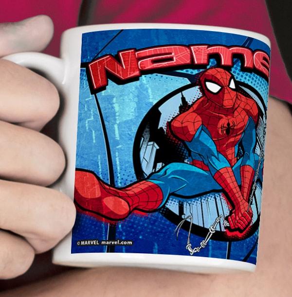 Ultimate Spiderman Photo Mug