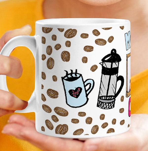 Mum's Coffee Personalised Mug