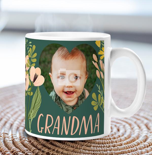 Loveliest Grandma Photo Mug