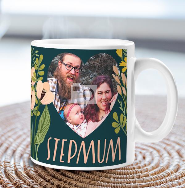 Loveliest Step Mum Photo Mug