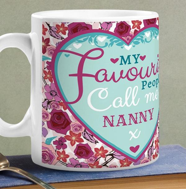 My Favourite People Call Me Nanny Mug