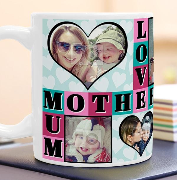 7 Photo Upload Love Mum Mug