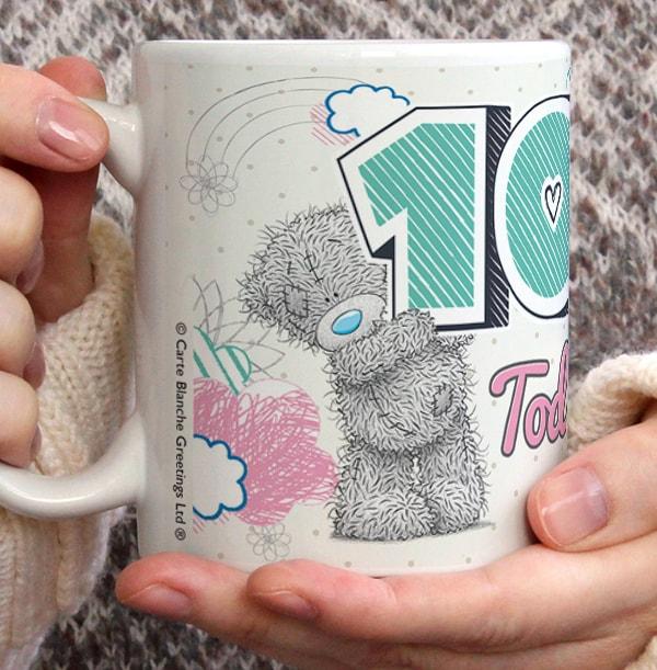 10th Birthday - Me To You Personalised Mug