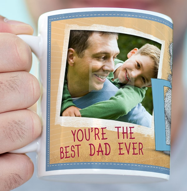 You're The Best Dad Ever Personalised Mug