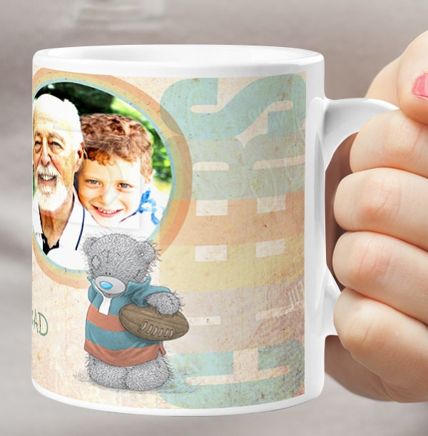 Me To You Personalised Photo Mug - Grandad