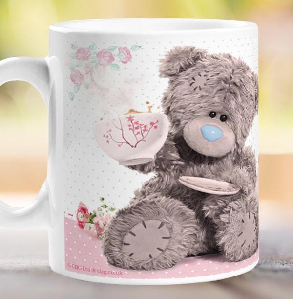 Tea-riffic Mum Personalised Mug - Me to You