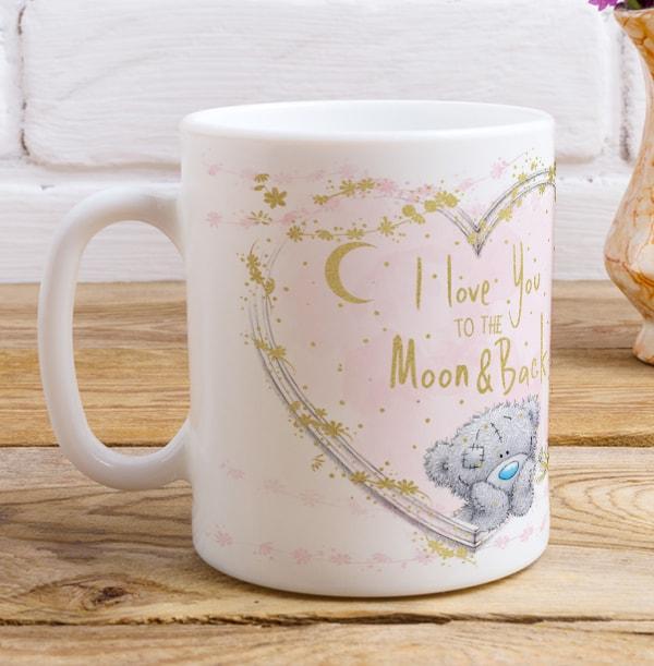 Mum To The Moon & Back Me To You Mug
