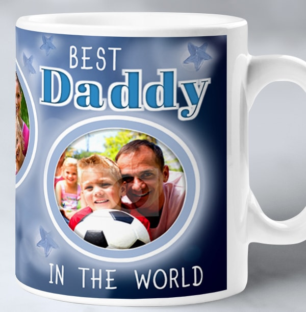 Best Daddy In The World Personalised Mug
