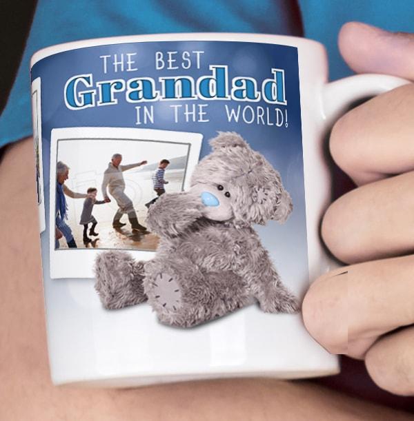 Best Grandad In The World Personalised Mug