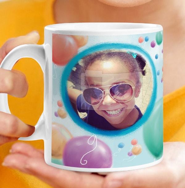 Balloon Personalised Mug - Me to You