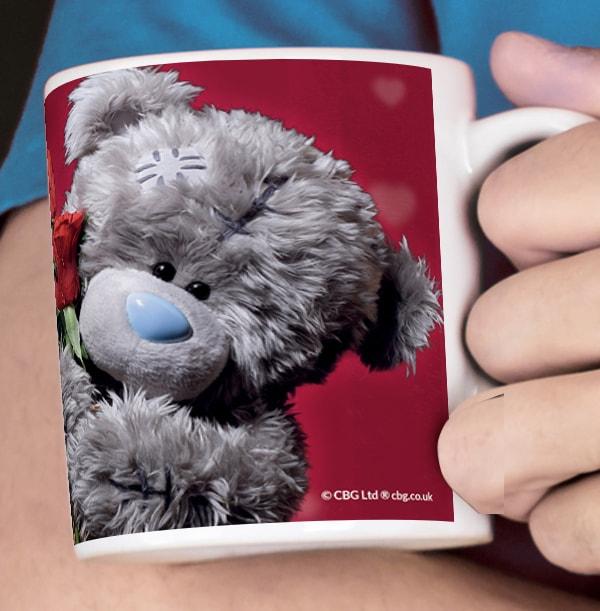 Me to You Photo Upload Mug - Bearing Roses