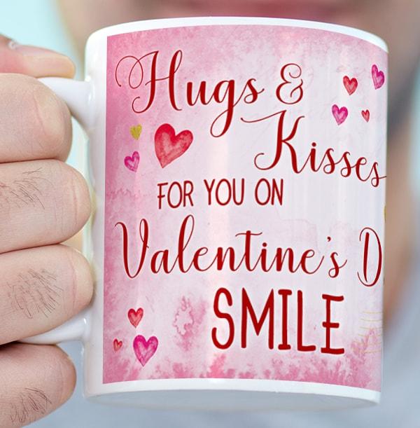 Me To You - Hugs & Kisses Photo Mug