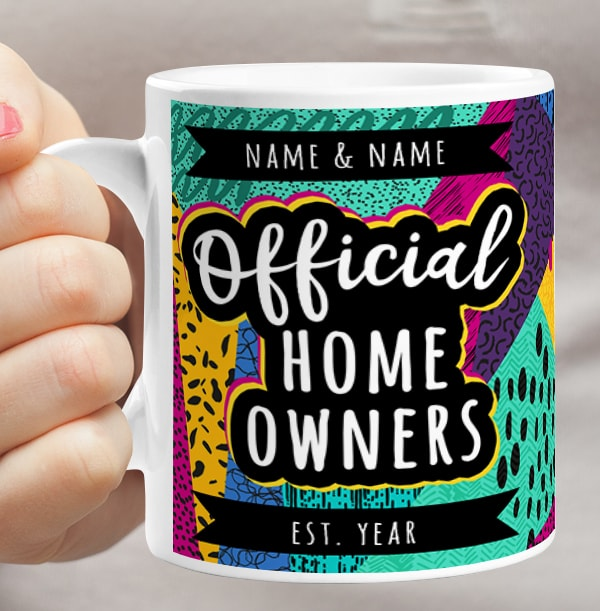 Official Home Owners Personalised Mug
