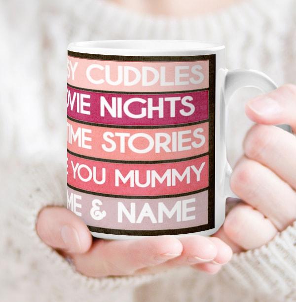 Personalised Mum's List Mug