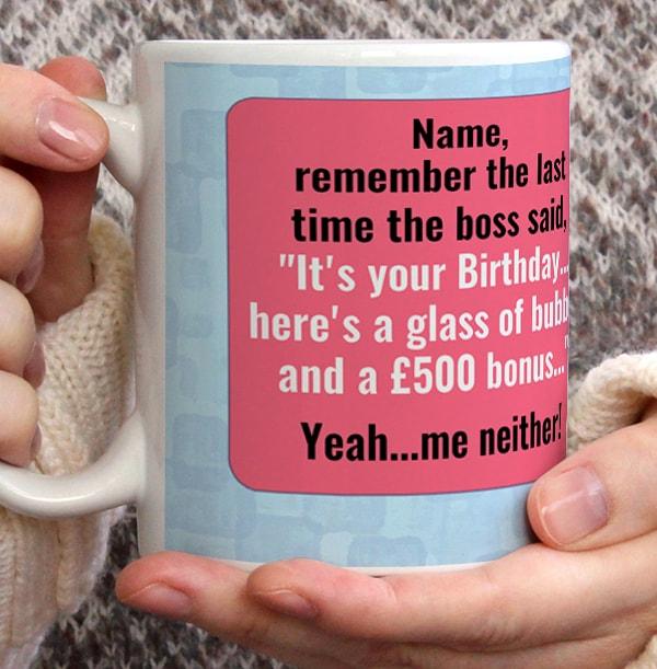 Birthday Bonus Mug