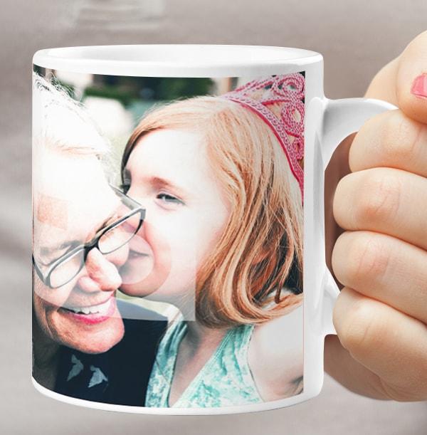No 1 Teacher Photo Mug