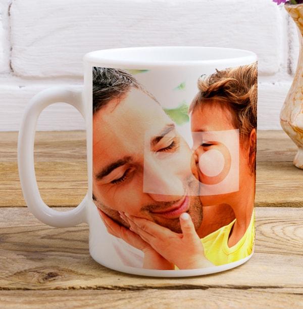 Personalised Black Tea Recipe Photo Mug for Him