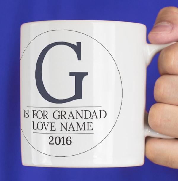 Personalised Mug - Photo Upload For Grandad