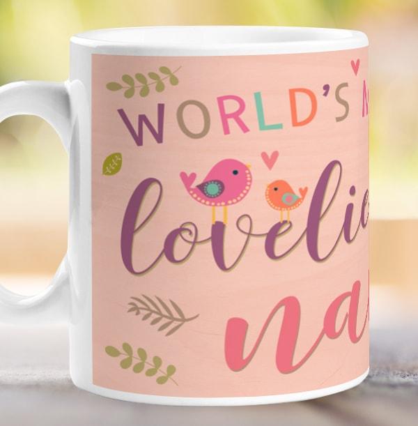 Loveliest Nan Photo Mug