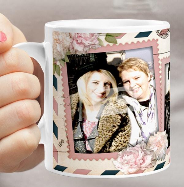 Lovely Mum Personalised Mug