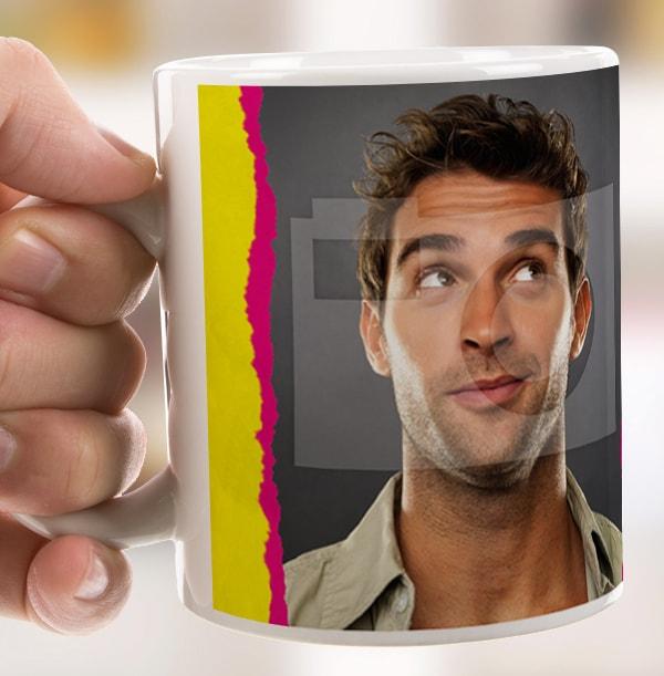 Milk & Sugar Personalised Tea Mug