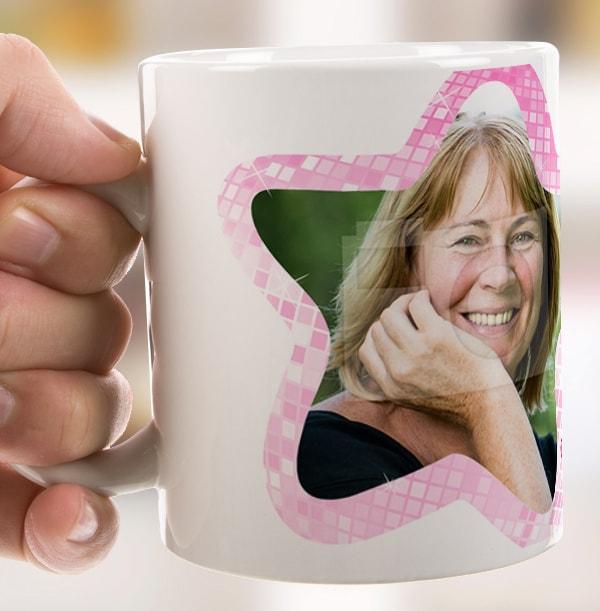 Strictly Mum Drinking Photo Mug