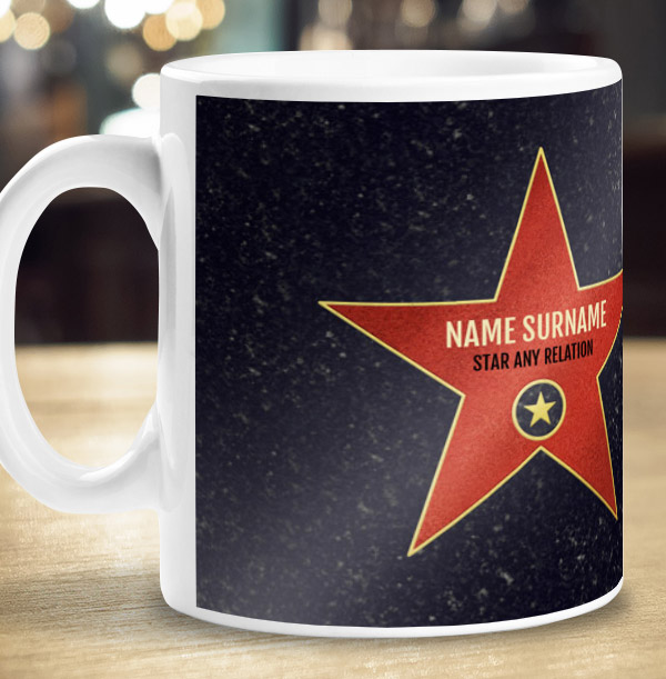 You're A Star Relation Personalised Mug
