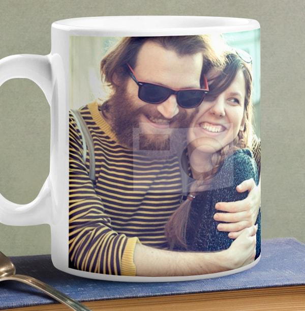Personalised Mug - Full Photo Upload Polaroids
