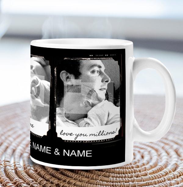 Personalised Mug - Photo Upload Retro Booth Daddy