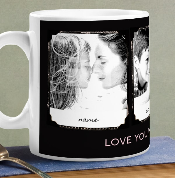 Retro Booth Love You Mum Personalised Mug