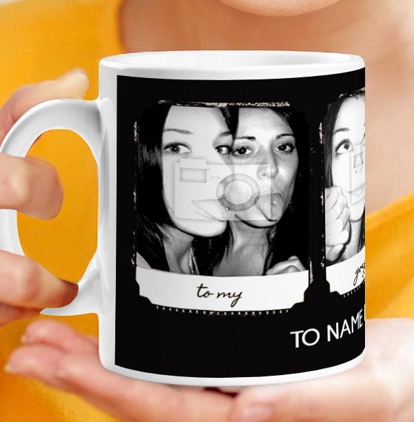 Photo Booth Retro Personalised Mug