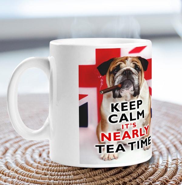 British Bulldog Mug - Rachael Hale