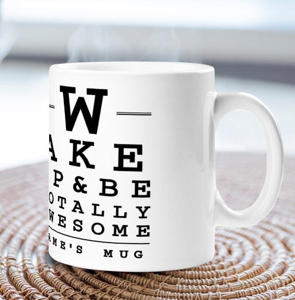 Be Totally Awesome Personalised Mug