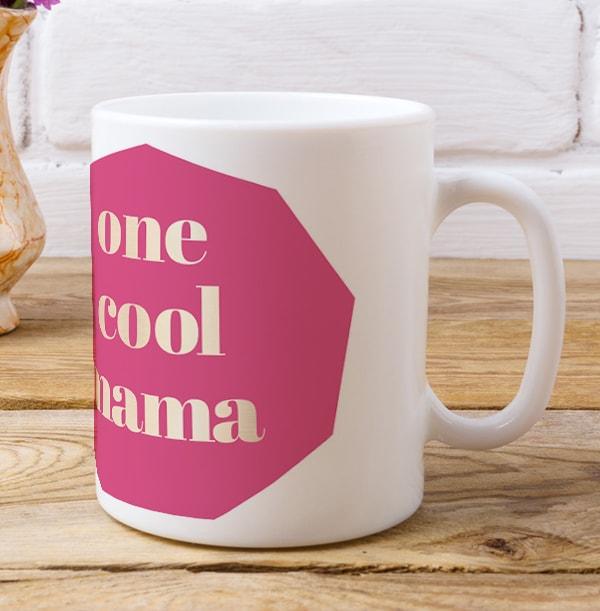 One Cool Mama Personalised Mug