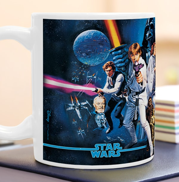 Star Wars A New Hope The Force is Strong Mug