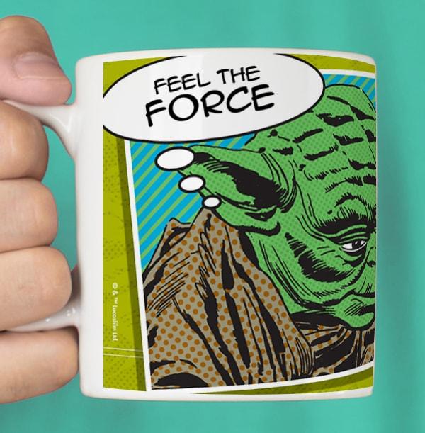 Star Wars A New Hope Yoda Mug