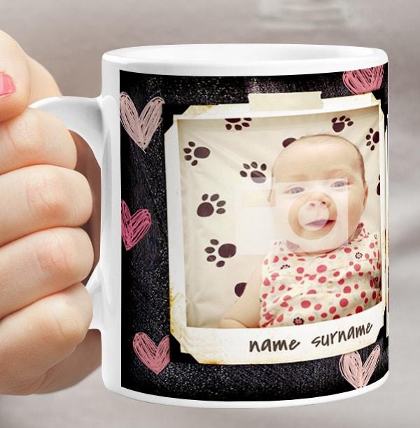 Personalised Polaroid Mug - 3 Photo