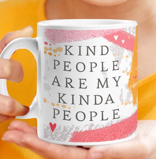 Kind People Thank You Personalised Mug