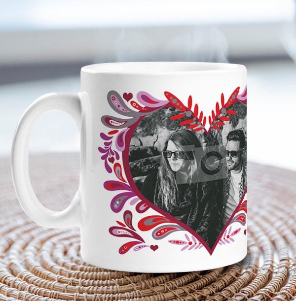 Personalised Mug - Photo Upload Folklore Love