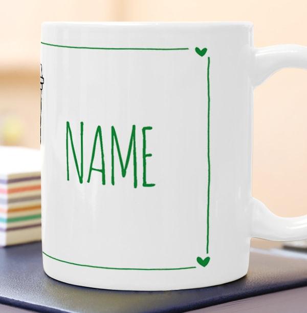 Love You A Latte Personalised Mug