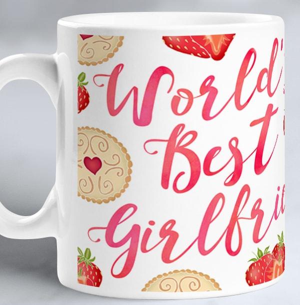 Girlfriend Photo Upload Mug - Sweet Life