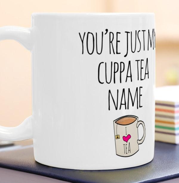 Just My Cuppa Tea Photo Mug