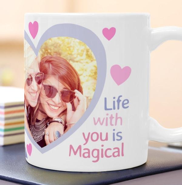 Magical Unicorn Photo Mug