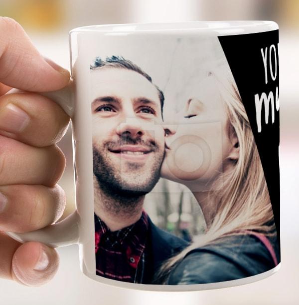 My Whole World Photo Mug
