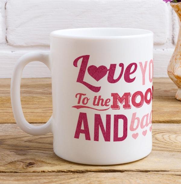 To The Moon & Back Photo Mug