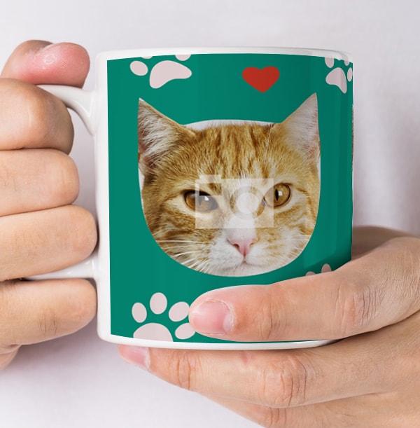 Cat Photo Mug