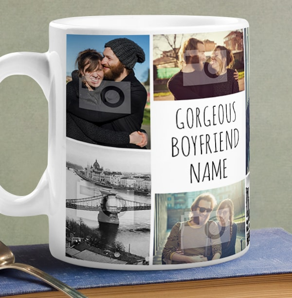 Multi Photo Upload Boyfriend Mug