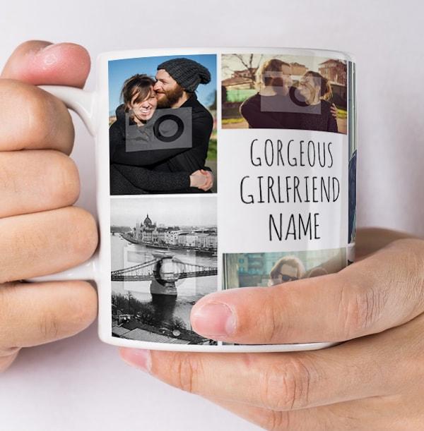 Multi Photo Upload Girlfriend Mug